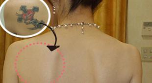 タトゥーカバーのイメージ